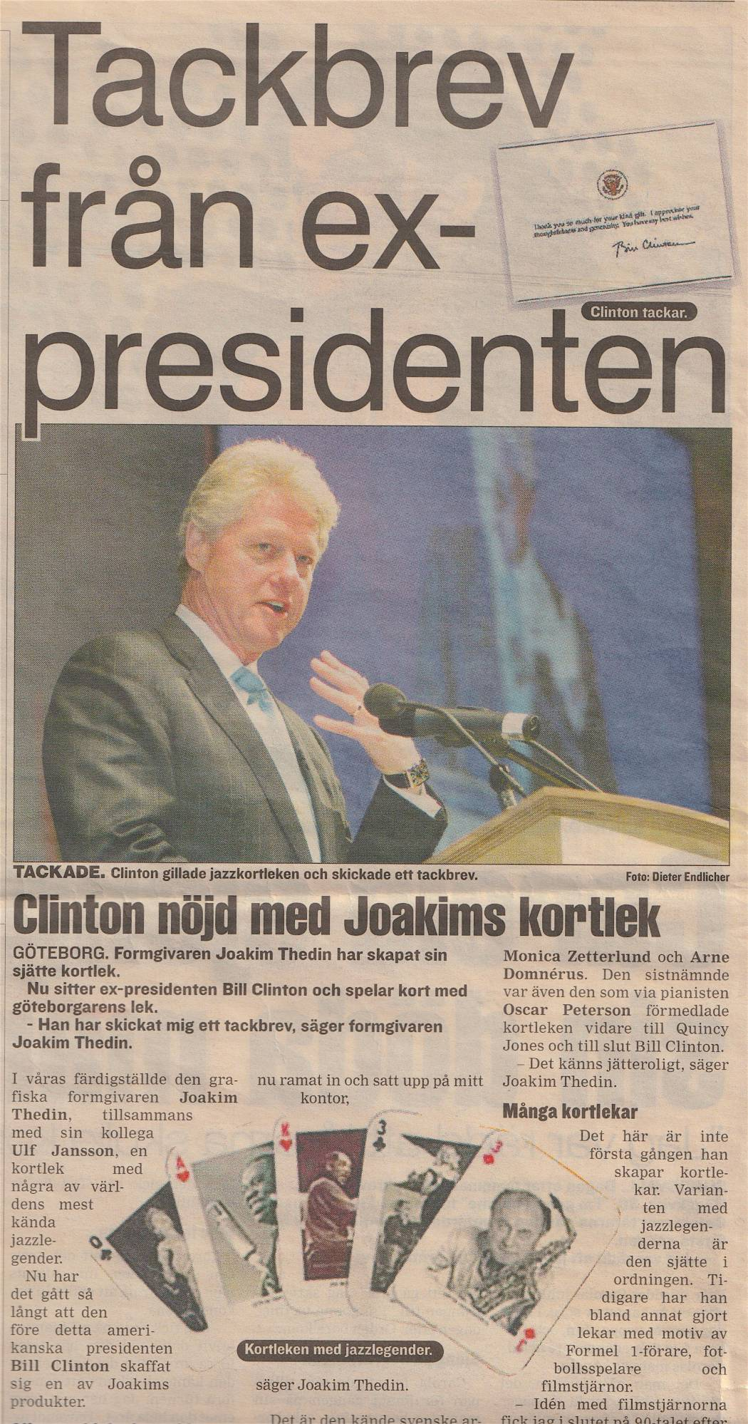 Article Bill Clinton